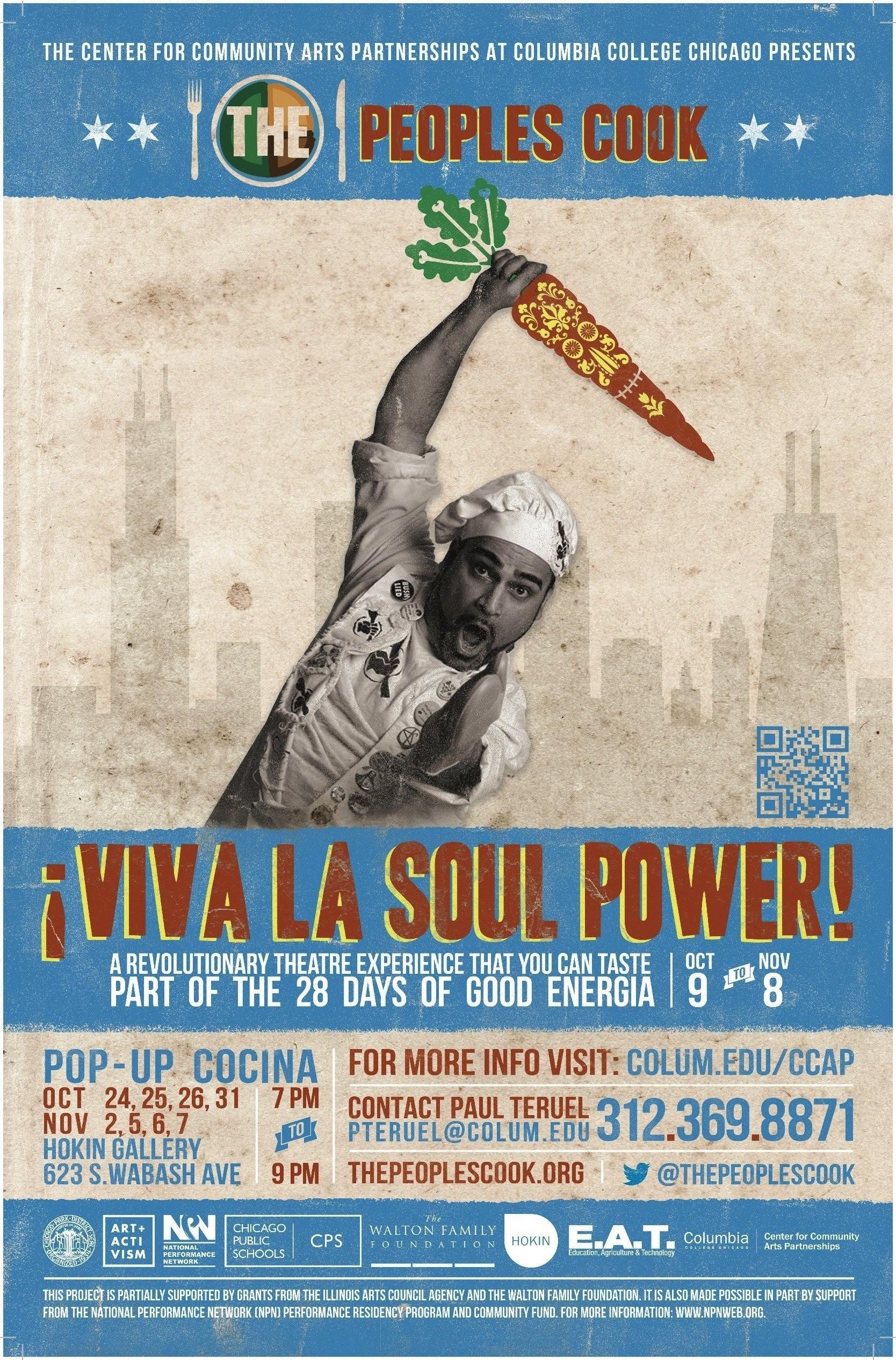 Viva la Soul Power Poster!